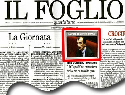 Il Foglio via Corriere.it