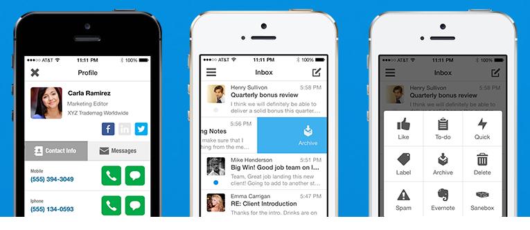 Boxer app per iOS